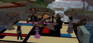 Furzi's protesting